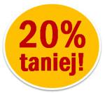 Promocja - wszystko Manufaktura Smaku 20% taniej