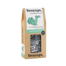 Herbata Green Tea with Mint w saszetkach (15 sztuk) - T...