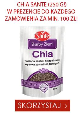 Chia gratis do każdego zamówienia za minimum 100 zł