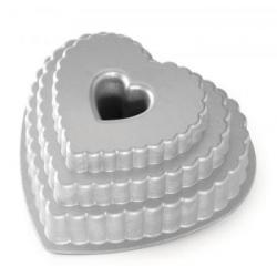 Forma do ciasta Tiered Heart - Nordic Ware