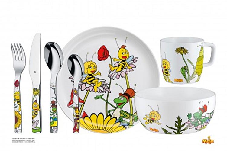 Zestaw Obiadowy Dla Dzieci Pszczółka Maja 7 Eleme Sklep Aledobrepl