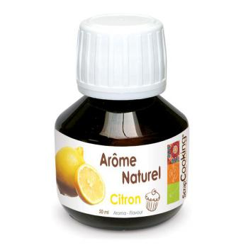 Aromat naturalny cytrynowy (50 ml) - ScrapCooking