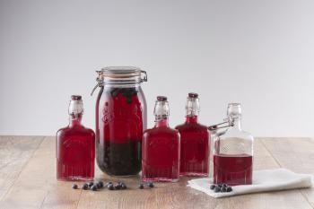 Szklana buteleczka mini (70 ml), Clip Top Bottle - Kilner