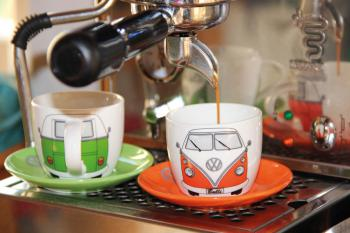 Zestaw filiżanek (4 sztuki) do espresso VW T1 – VW Collection by BRISA