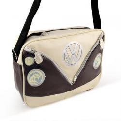 Hipsterska torba, brązowa - VW Collection by BRISA