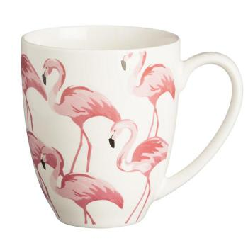 Kubek Pink Flamingo 380 ml - Fine China - Price Kensington