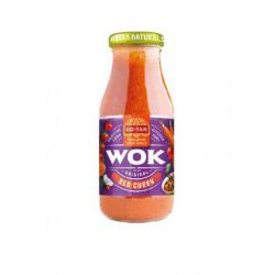 Sos do dań z woka Red Curry (240 ml) - Go-Tan