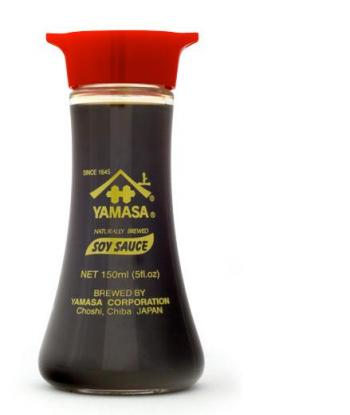 Sos sojowy, dyspenser (150 ml) - Yamasa
