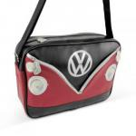 Hipsterska torba, czerwono-czarna - VW Collection by BR...